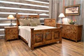 Distressed White Bedroom Furniture Sets Rustic Pine Set Materials ...