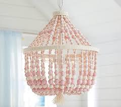 pink dahlia chandelier