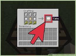 cake minecraft recipe. Image Titled Make A Cake In Minecraft Step 6 Recipe