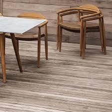 contemporary garden chair with armrests teak rope dansk by povl eskildsen