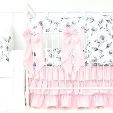 pink and gray nursery bedding pink filigree crib bedding