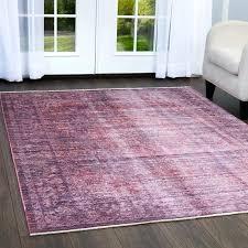mauve area rug miller artisan