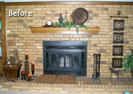 decorating ideas for brick fireplace wall home design inspiration painted brick fireplace