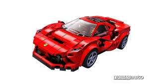 1163, modena, italia, numero del registro imprese di modena, p. Modellino Auto Ferrari F8 Tributo Novita Lego Newsauto It