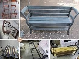 diy repurposed furniture. diy bench from old chairs cupcakepedia diy repurposed furniture e