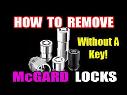Mcgard Wheel Lock Key Patterns