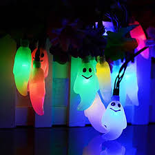 halloween party lighting. 1.2M 10LED Ghost String Lights For Halloween Party Decor Light MR- As Shown Lighting