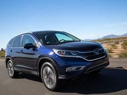 Compact Suv Comparison 2015 Honda Cr V Kelley Blue