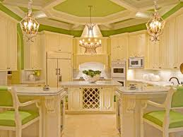 Yellow Kitchen Green Kitchen Cabinets Pictures Options Tips Ideas Hgtv