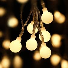 outdoor strand lighting. Small Globe Lights Commercial Patio String Outside Led Outdoor Strand Lighting Indoor Cafe Garden Light Bulbs E