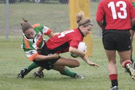 a women s rugby sevens game in the united states