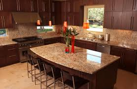 Granite Tile For Kitchen Countertops Kitchen Kitchen Granite Countertops With Dark Color Granite