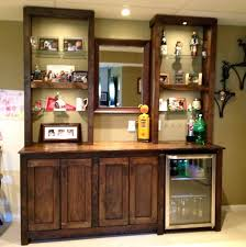 mini home bar furniture. Home Bar Cabinet Charming Wooden Designs With Transparent Glass Shelves Also Mirror Plus . Mini Furniture