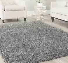 8x10 area rug gy gray 2 inch plus thick heavy size 7393x1039 new solid