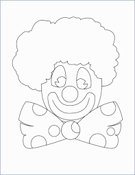 Pennywise The Clown Coloring Pages With Clownfish Coloring Page Free