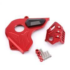 XQY <b>Motorcycle CNC</b> Aluminum Alloy <b>Front Sprocket</b> Chain Guard ...