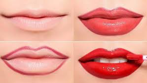 face reading lips color shapes types