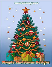 Simple Christmas Designs Easy Designs To Color For The