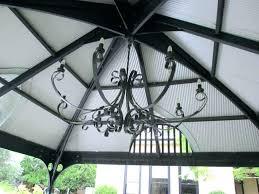 outdoor chandeliers for gazebo solar powered chandelier wireless lighting gazebos fixtures