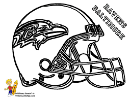 Nfl Colts Coloring Pages Big Stomp Pro Football Helmet Helmets Free