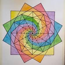 Designs From Mathematical Patterns Regolo54 Fractal Fibonacci Geometry Symmetry Pattern