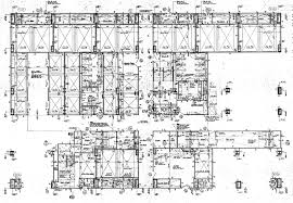 architectural engineering blueprints. Twin Tower 66th Floor - Plan Construction Document Architectural Engineering Blueprints A