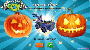 ANGRY BIRDS GO - HALLOWEEN EVENT - COLLECT 1000 PUMPKINS - YouTube