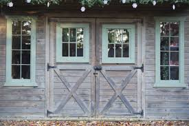 barn style front doorFrom rustic to chic 15 kitchens with barn door accents