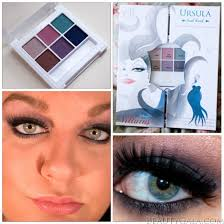 four makeup books with a plete set of makeup inside each represents one of the famous disney villains of course today i have ursula for you