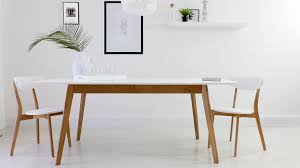 Dining White Extendable Dining Table