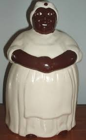 Mccoy Cookie Jar Values Beauteous Vintage Black Mammy Ceramic Cookie Jar Collectics Antiques And