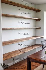 amazing wood for shelf best d i y project dining room open shelving by the grain cottage cut