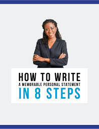 how to write a memorable personal statement in 8 steps enter your email to get your sample