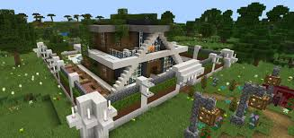 modern house. Creator: M7MoGameR Modern House