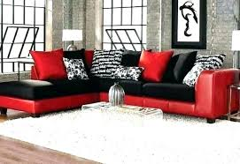 leather couches black sectional couches black leather sectional couch red black sectional sofas intended leather