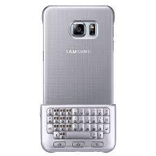 samsung keyboard. official samsung galaxy s6 edge plus keyboard cover - silver