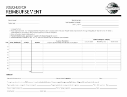 Expense Reimbursement Template Interesting Mileage Claim Form Template Sample Business Images Of Download