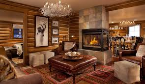 Decorations:Astonishing Small Log Cabin For Hunting Also Bamboo Bedroom  Across Rustic Nook Living Room