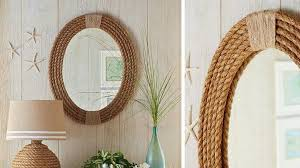 oval mirror frame. Diy Framed Oval Bathroom Mirror Frame
