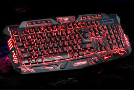 red purple blue backlights mechanical sense gaming keyboard pc