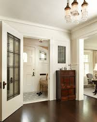 small vestibule decorating ideas entry traditional with stained glass window distressed armchairs