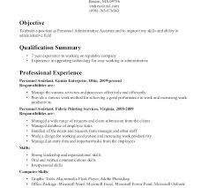 How To Write A Career Objective For A Resume Object Of Resume Resume