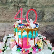 40th Birthday Cake Sweet Design Studiossweet Design Studios