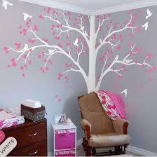 corner tree wall sticker nursery kids