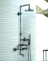 outdoor shower fixtures home depot 2 handle 3 spray tub and faucet in bathrooms shower head home depot