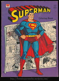 Kryptonite was an unexpected addition to the mythology of the dc universe. Whitman Superman Coloring Book 1966 Superman Collector In Hawaii