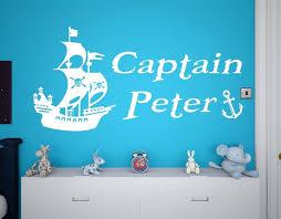 personalised pirate ship boys girls