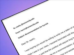 Tips For Requesting A Letter Of Recommendation College