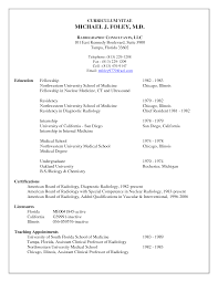 Physician Resume Template Doctor Sample Documents In Pdf Medical