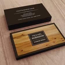 wooden business cards stylish border wood grain texture business card templates